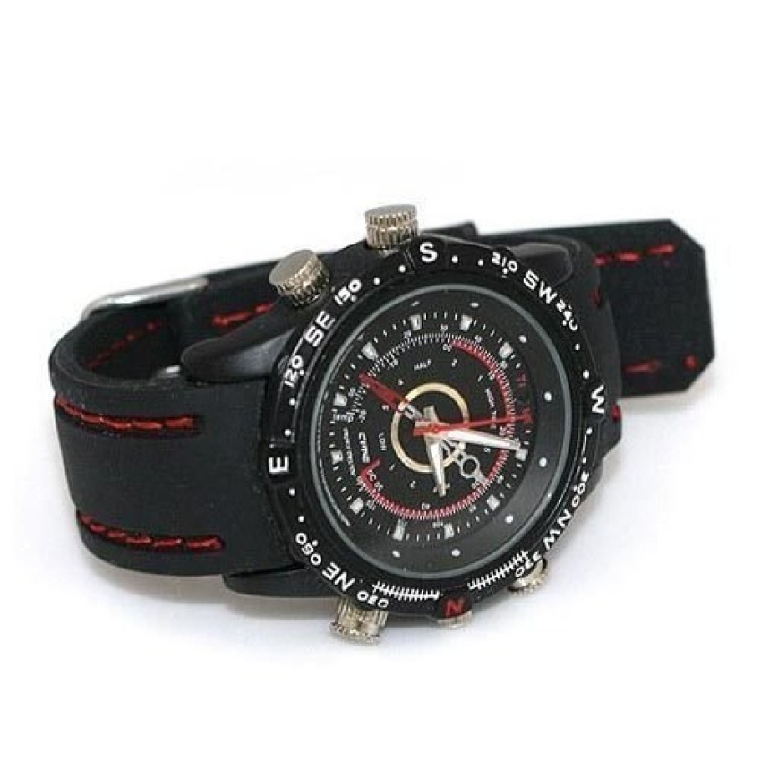 8GB Watch Camera DVR-11S8GB (Black)(x3) - intl