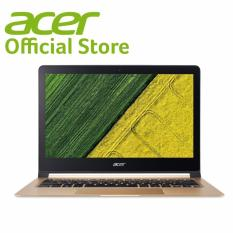 "Acer Swift 7 (SF713-51-M718) 13.3"" FHD Ultrathin i7-7Y75 (Up to 3.6GHz, 4MB L3 cache)/8GB RAM/512GB SSD/W10 Laptop (Black)"