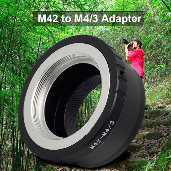 Adapter Ring For M42 Mount Lens to Micro M4/3 Panasonic G3 GH2 GF2 GF3 GF7