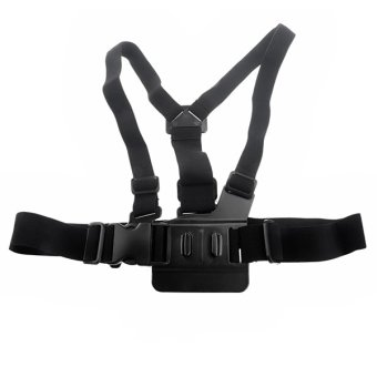 Adjustable Elastic Chest Strap Harness Mount for GoPro HD Hero 1 23 3+ 4 Camera Price in Singapore