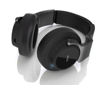 AKG K845BT Bluetooth Wireless On-Ear Headphones, Black