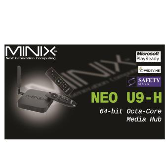 Android MiniX Neo U9-H (Newest) 4K TV Media Box