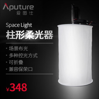 Aputure LED video light portrait photoshoot is
