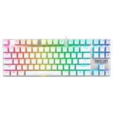 Armaggeddon Marco-Able™ RGB Keyboard MKA-5R White (Red Switch) Singapore