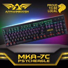 Armaggeddon MKA-7C Psycheagle Mechanical Keyboard (2017) Singapore