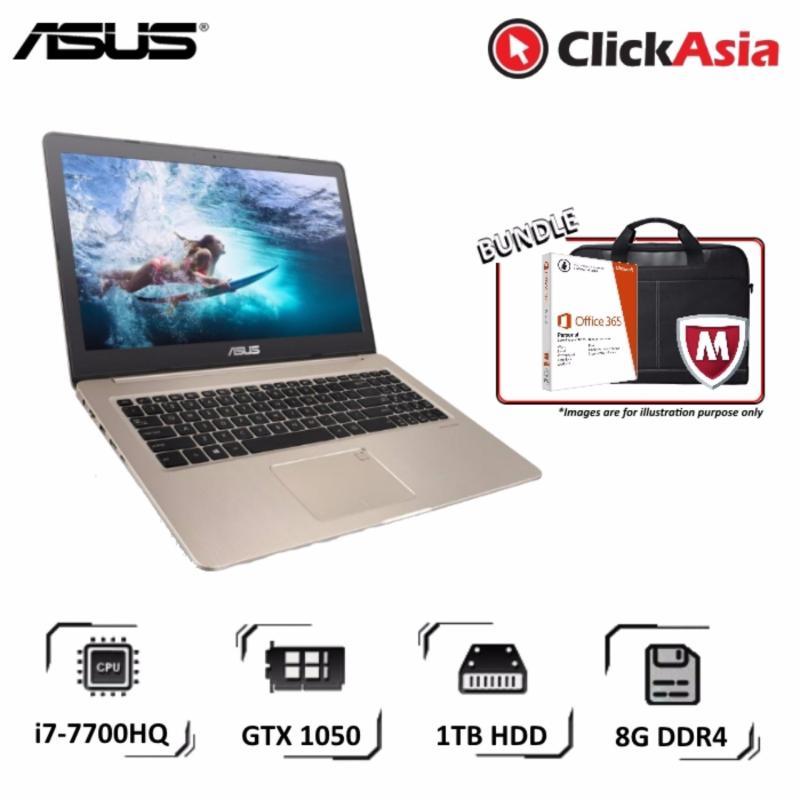 """Asus VivoBook Pro 15 (N580VD-DM484T) - 15.6""""/i7-7700HQ/8GB DDR4/1TB HDD/Nvidia GTX1050/W10"""