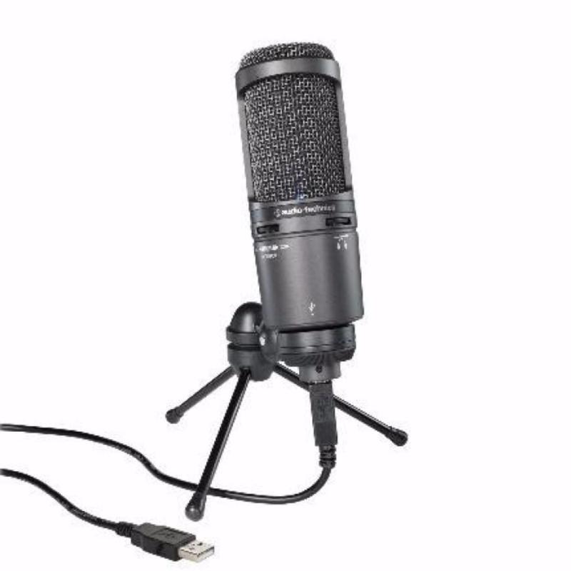 Audio-Technica AT2020USB+ Cardioid Condenser USB Microphone Singapore