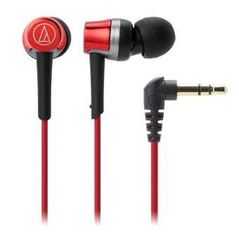 Audio-Technica ATH-CKR30iS In Ear Headphones for Smartphone (Red)