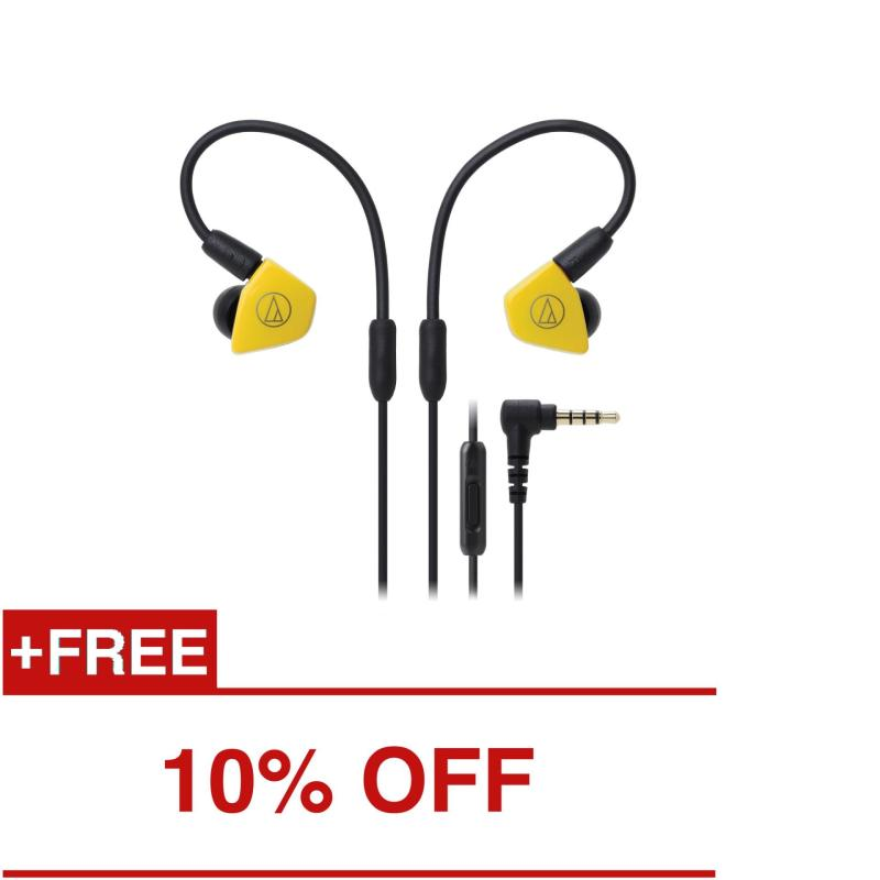 Audio-Technica ATH-LS50iS Professional In-Ear Monitor Headphones with In-line Mic & Control Singapore