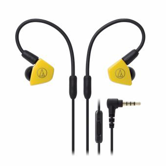 Audio-Technica ATH-LS50iS Professional In-Ear Monitor Headphones with In-line Mic & Control
