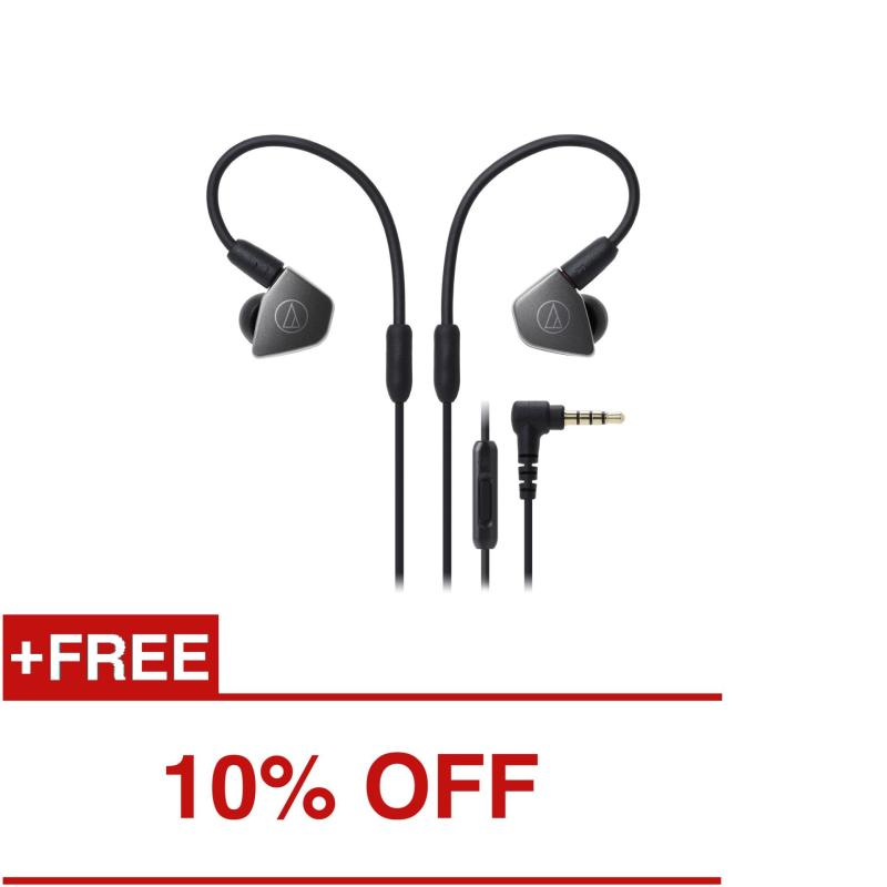 Audio-Technica ATH-LS70iS Professional In-Ear Monitor Headphones with In-line Mic & Control Singapore