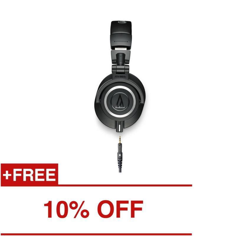 Audio-Technica ATH-M50X Professional Studio Monitoring Headphones Singapore