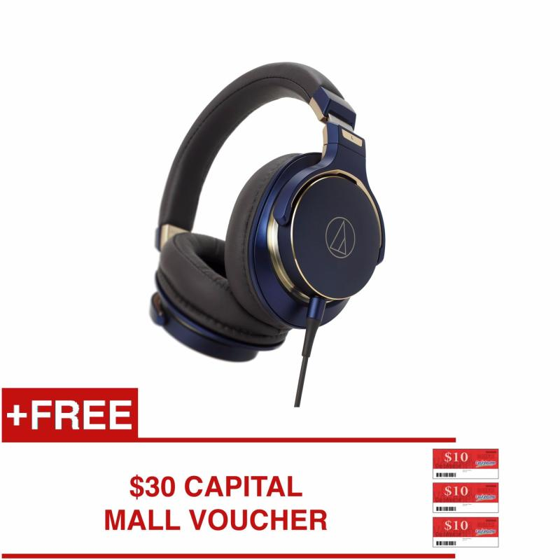 AUDIO-TECHNICA ATH-MSR7 SE SPECIAL EDITION HIGH-RESOLUTION OVER-EAR HEADPHONES Singapore