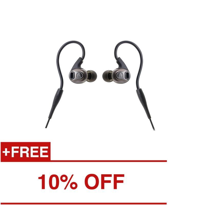 Audio-Technica ATH-SPORT3 In-Ear Headphones Black Singapore