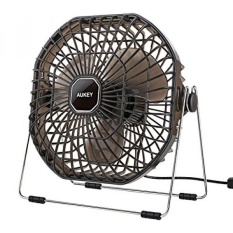 Aukey Usb Desk Fan Ultra Quiet Portable Table Fan With Strong