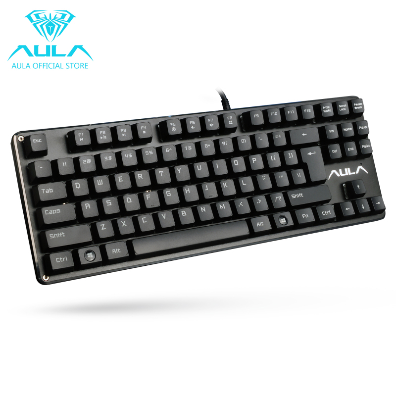 AULA OFFICIAL F2012 Mechanical Gaming Keyboard USB Wired Keyboard(Black) Singapore