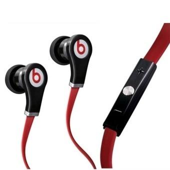 Beats Dr.Dre Tour Earphones (Red Black)  - intl - 2