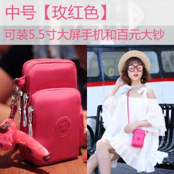 Beautiful Lena new mobile phone bag female mini small bag shoulder messenger bag hand bag purse bag halter wrist bag