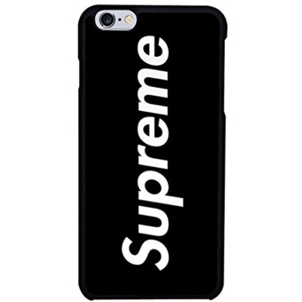 Black Supreme Phone Case Iphone 7 - intl