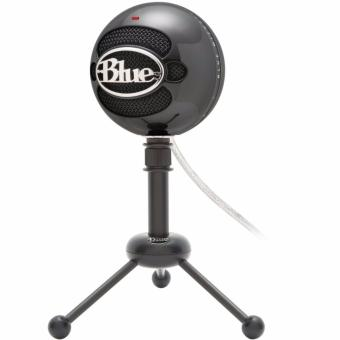 Blue Microphones Snowball iCE USB Microphone Glossy Black With Free Black Screen - 2