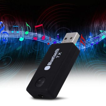 Bluetooth 2.1 Wireless Music Transmitter USB 3.5mm Audio Adapter -intl