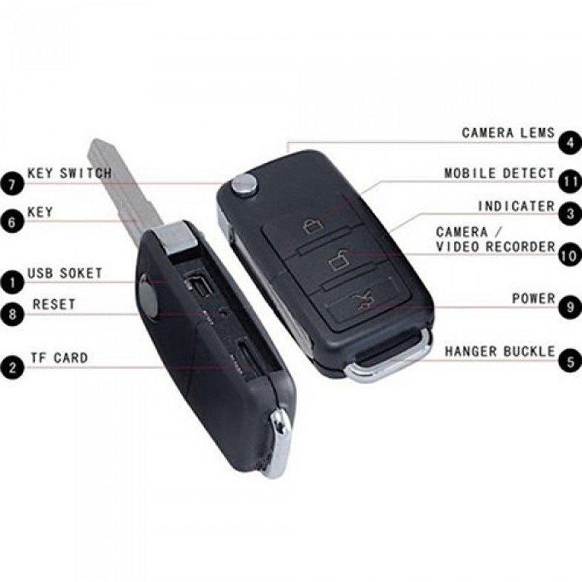 BMW Car Key Spy Hidden Pinhole Camera - intl