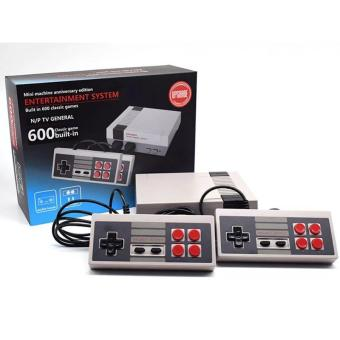 Classic Family Game Consoles Professional System For NES Game Player Built-in 600 TV Video Game With Dual Controllers Models:General standard edition Specification:EU plug