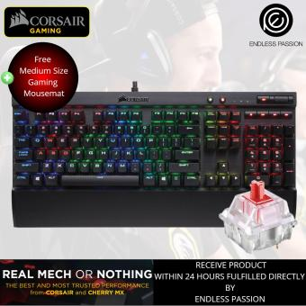 Corsair K70 LUX RGB Mechanical Gaming Keyboard (Cherry MX Red Switch)