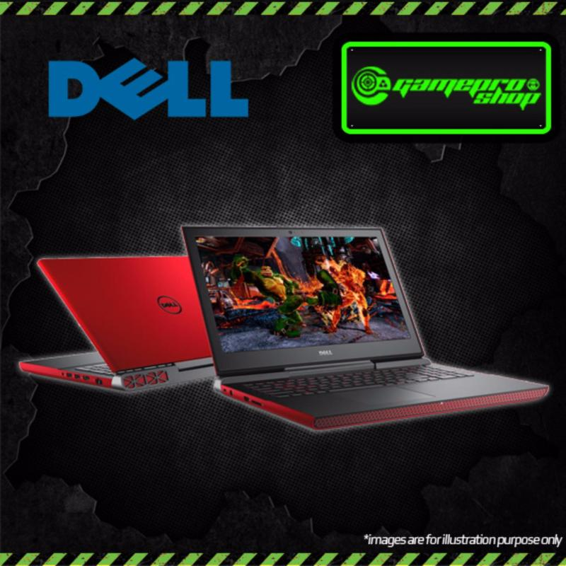 DELL 7567 Gaming Laptop (Red)- i7-7700HQ,GTX1050TI 4GB,WIN10 (Red)