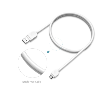 dodocool 1m Soft TPE Micro USB Charge and Sync Cable - 3