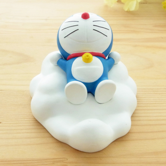 Harga DORAEMON jingle cats mobile phone seat blue fat bracket ornamentsclouds mobile phone seat