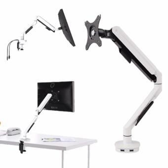 Dual USB Adjustable Desktop/LCD Monitor Mount Arm