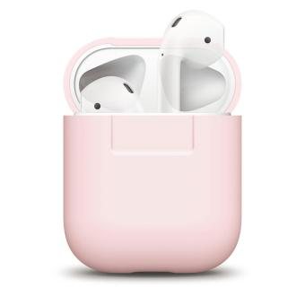 Elago AirPods Silicone Case (Lovely pink)