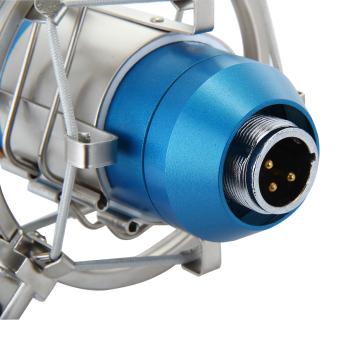 Floureon BM-800 Cardioid Condenser Microphone With ShockMount(Blue) - 5
