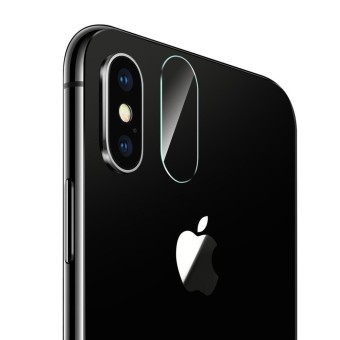 For iPhone X Rear Camera Lens Protector Tempered Glass Protective Film - intl