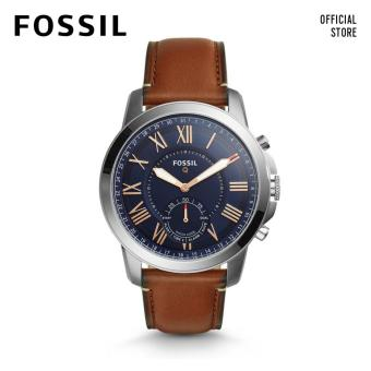 Fossil Q Grant Brown Leather Smart Watch