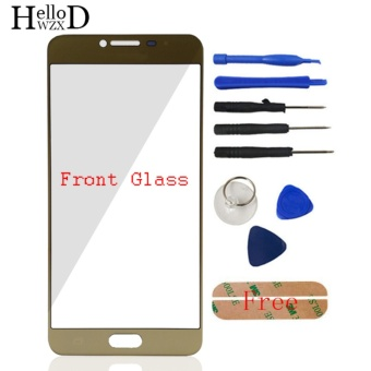 Front Outer Glass Screen Lens (No Touch) For Samsung Galaxy C7 C7000 + Free