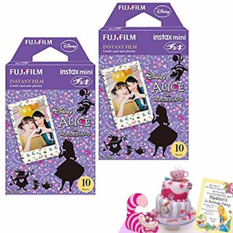 Fujifilm Instax Mini Film - Alice in Wonderland Twin Pack Exp Jun18