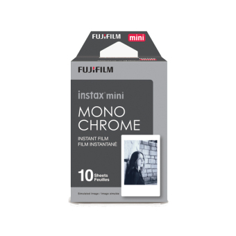 Fujifilm Instax Mini Film Monochrome 1 pack (10 sheets)