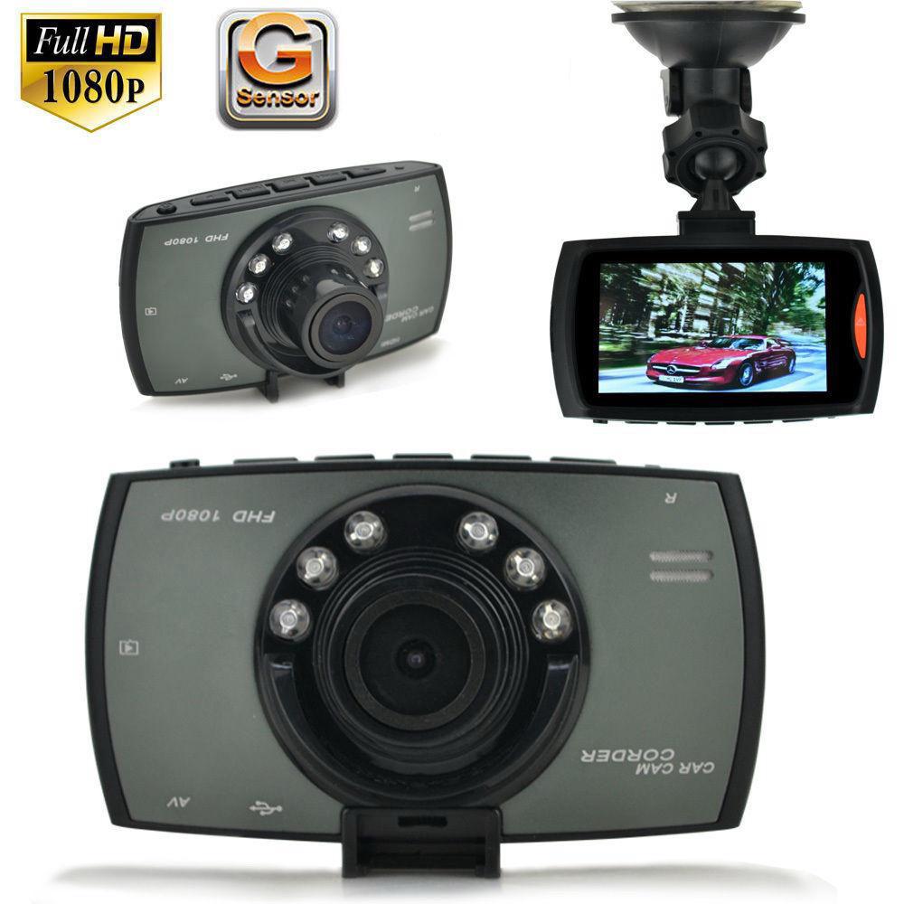 Full HD 1080P Car Camera Dash Video 2.4'' LCD Crash G-sensor NightVision