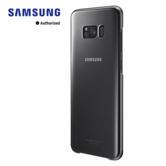 Galaxy S8+ Clear Cover - Black