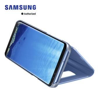 Galaxy S8+ Clear View Standing Cover - Blue