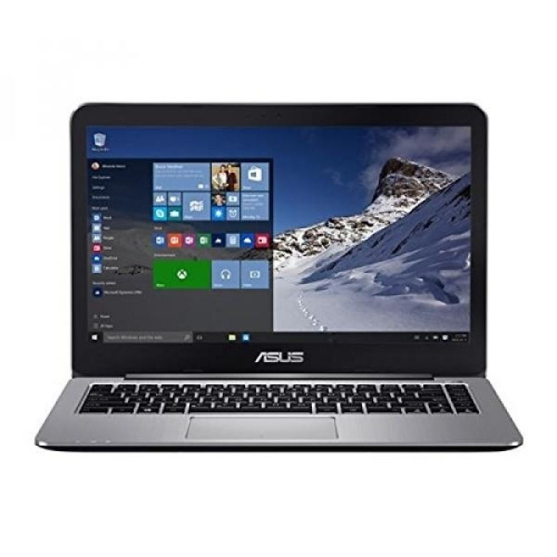 GPL/ ASUS VivoBook R416SA-EH21 14 Full HD Laptop (Quad-Core N3700, 4GB DDR3 RAM, 128GB eMMC, Windows 10), Metallic Gray/ship from USA - intl
