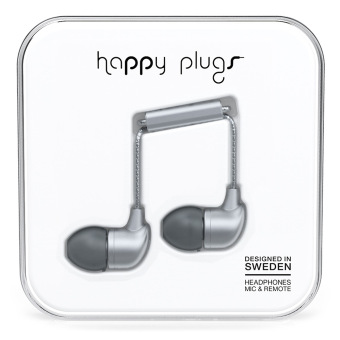 Harga Happy Plugs In-Ear Space Grey