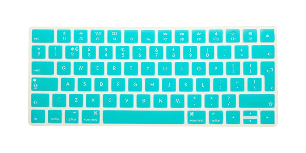 HRH Hot New English Silicone Keyboard Cover Protector Film Skin for Apple Magic Keyboard MLA22B/A ...