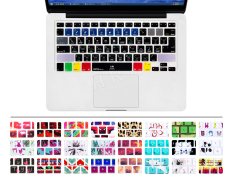HRH Newest Logic Pro X Shortcuts Hotkeys Silicone Keyboard cover keypad skin protective film for Macbook ...