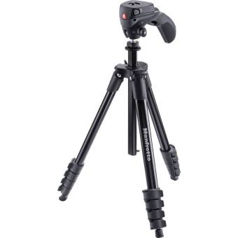 Harga Manfrotto MKCOMPACTACN-BK Compact Action Tripod (Black)