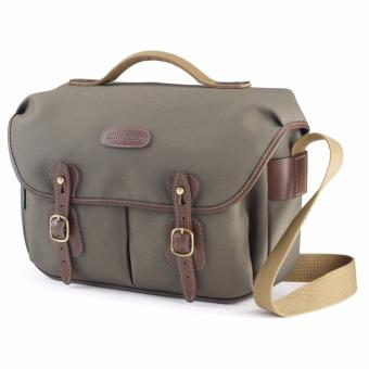 Harga Billingham Hadley Pro Shoulder Bag (Sage w/ Chocolate Leather Trim)