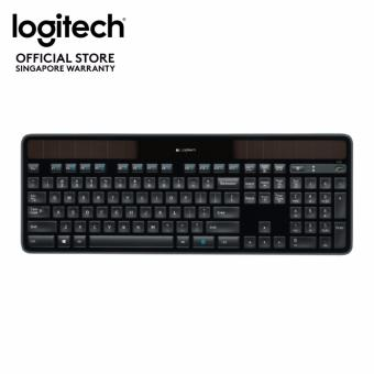 Harga Logitech Wireless Solar Keyboard K750r