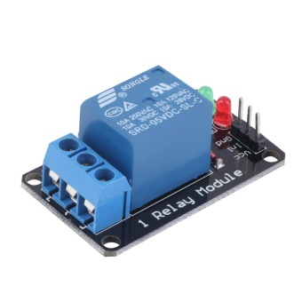 Harga OH Effective Stable 1 Channel 5V Indicator Light LED Relay Module for Arduino (EXPORT)